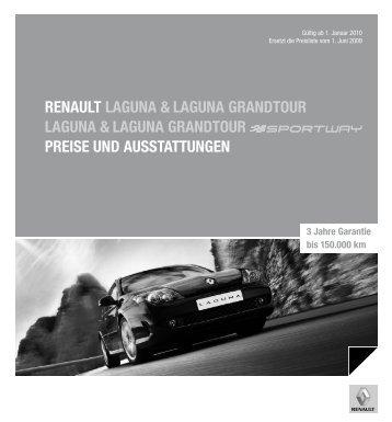 Renault laguna & laguna gRandtouR laguna & laguna gRandtouR ...