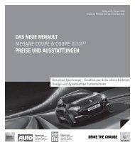 das neue renault mégane coupé & coupé preise und ausstattungen