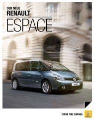 Espace(3,7 MB) - Renault Preislisten
