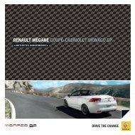 renault mégane coupé-cabriolet monaco gp - Renault Preislisten