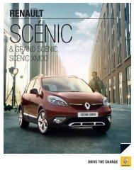 SCÉniC - Renault Preislisten