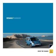 RENAULT KANGOO - Renault Preislisten