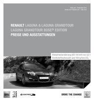 Laguna.pdf - Renault Preislisten