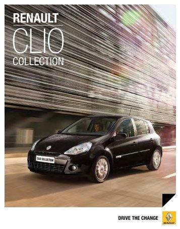 Zum Renault Clio Collection Prospekt