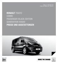 pReise - Renault Preislisten