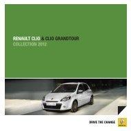 renault clio & clio grandtour collection 2012 - Renault Preislisten