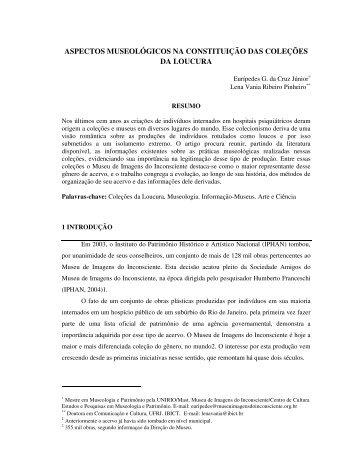 aspectos museológicos na constituição das coleções da loucura - Ibict