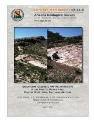 Structural-Geologic Map Relationships in the Salcito Ranch Area,