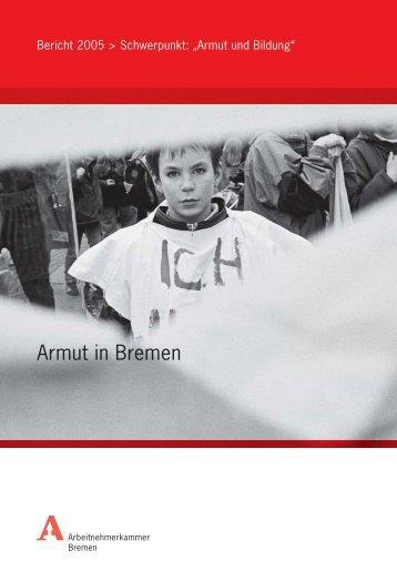 Armut und Bildung - bei der Arbeitnehmerkammer Bremen