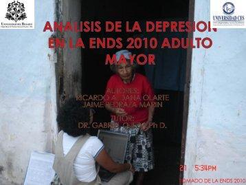 depresion en adultos mayores.