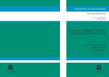 manual para la realización del análisis de las fuerzas del mercado ...