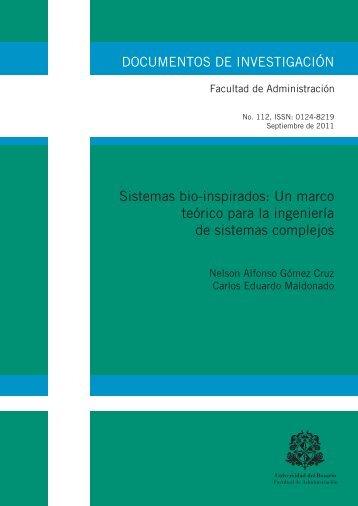 Sistemas bio-inspirados: Un marco teórico para la ingeniería de ...