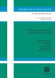 Turbulencia empresarial: Sector EPS en Colombia - Repositorio ...