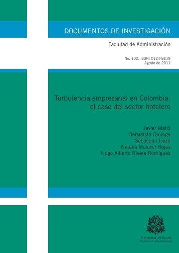 Turbulencia empresarial en Colombia: el caso del sector hotelero