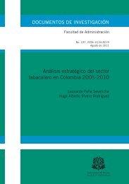 Análisis estratégico del sector tabacalero en Colombia 2005-2010