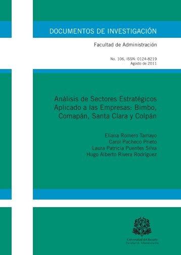 Análisis de Sectores Estratégicos Aplicado a las Empresas: Bimbo ...