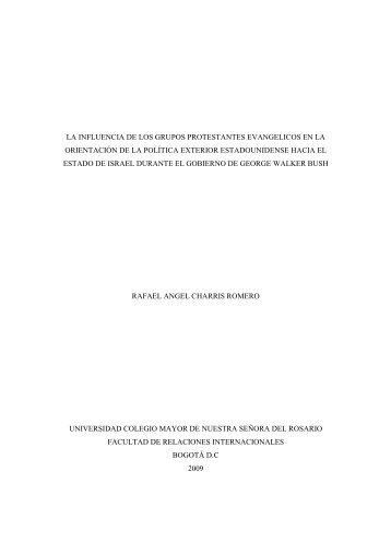 monografia de grado rafa. la influencia de los grupos - Repositorio ...