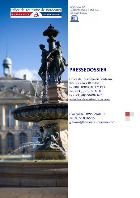 PRESSEDOSSIER - Maison de la France