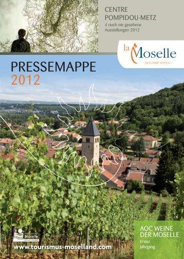 PRESSEMAPPE 2012 - Maison de la France