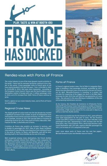 seatrade 2012 inches 16.02.indd - Maison de la France