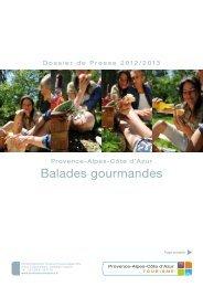 Balades gourmandes - Espace presse tourisme