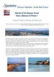 64 Biarritz, stars glamour et fiesta - Maison de la France
