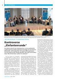 "Kontroverse ""Elefantenrunde"" - Arbeitskammer des Saarlandes"