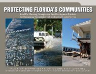 Protecting Florida's Communities - Department of Economic ...