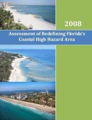 Assessment of Redefining Florida's Coastal High Hazard Area