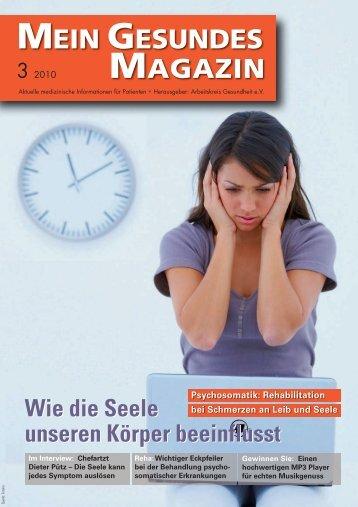 Mein Gesundes Magazin 3 2010 - Arbeitskreis Gesundheit eV