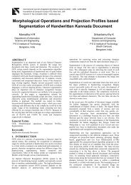 Morphological Operations and Projection Profiles based ...