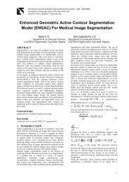 For Medical Image Segmentation - International Journal of Applied ...