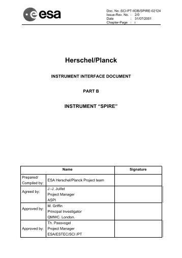 Herschel/Planck - Research Services