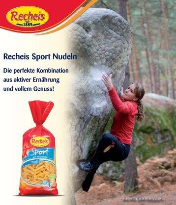Recheis Sport Nudeln