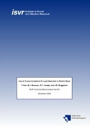 Use of Cross-Correlation for Leak Detection in Plastic Pipes Y.Gao ...