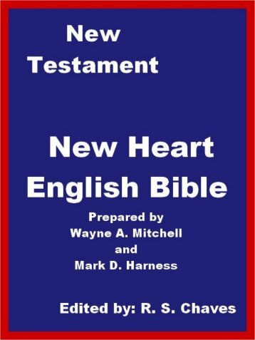 New Heart English Holy Bible New Testament PDF.pdf