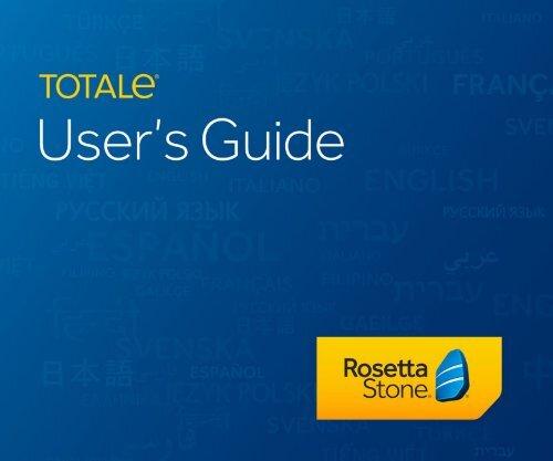 TOTALe User's Guide - Rosetta Stone