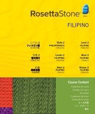 FILIPINO - Rosetta Stone
