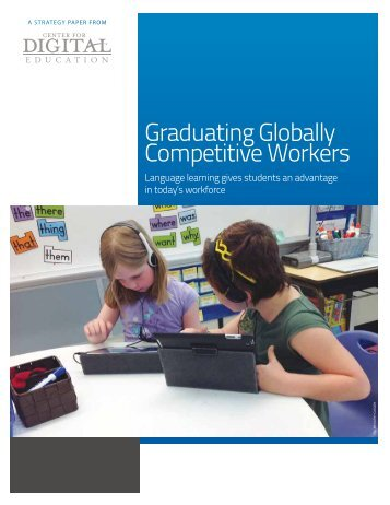Graduating Globally Competitive Workers - Rosetta Stone