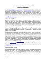websites rosetta stone totale and rworld política de privacidade