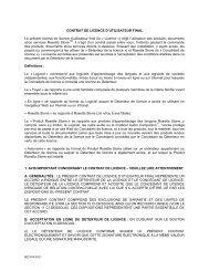 GLOBAL END USER LICENSE AGREEMENT - Rosetta Stone