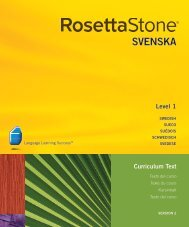 2-01 Fler verb - Rosetta Stone