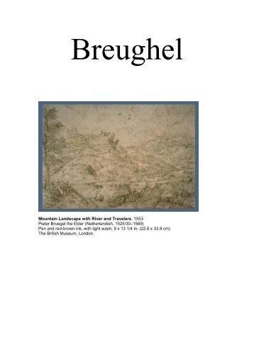 Breughel - R . E . W . I . R . E . D