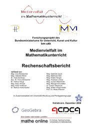 Endbericht (als pdf ca. 12 MB) - Regionales Fachdidaktikzentrum ...