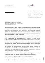 Erlass - Regionales Fachdidaktikzentrum MAthematik und Informatik