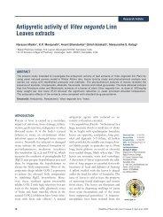 Antipyretic activity of Vitex negundo Linn Leaves ... - ResearchGate