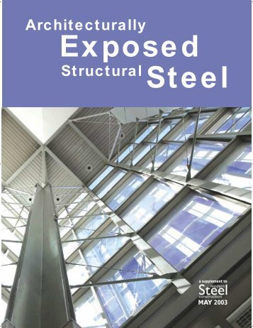 Architecturally Exposed Structural Steel - Arquitectura en acero