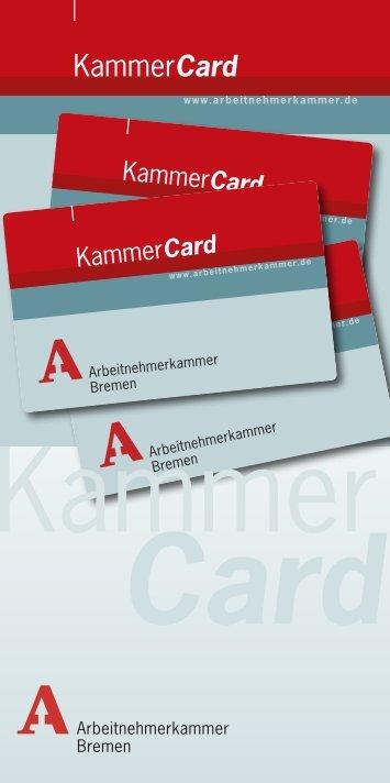 Card - bei der Arbeitnehmerkammer Bremen