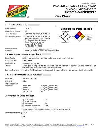 Gas Clean - Roshfrans