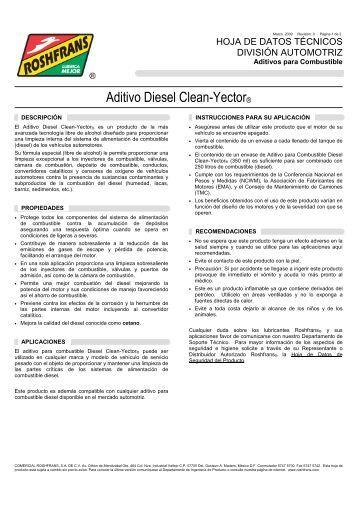 04 HDT DIESEL CLEAN-YECTOR - Roshfrans